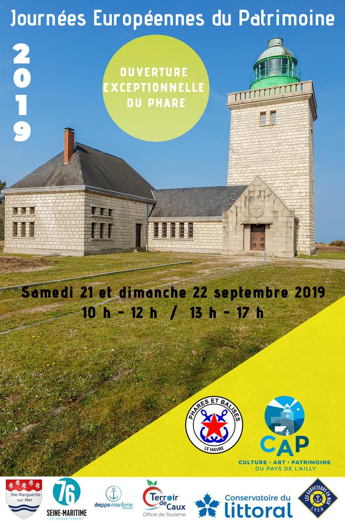 Journées du patrimoine 2019 - Visite guidée du phare d'Ailly