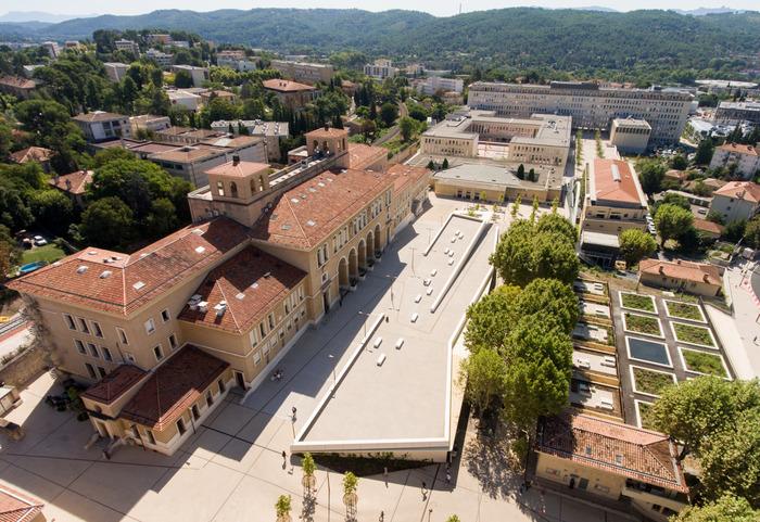 Journées du patrimoine 2019 - Visite du nouveau campus aixois d'Aix-Marseille université