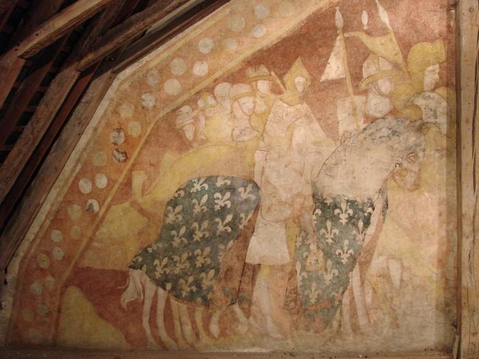 Journées du patrimoine 2020 - Découverte de la fresque du palais (XIIIe siècle)