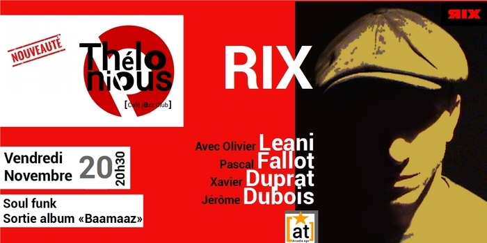RIX – THELONIOUS CAFE JAZZ CLUB