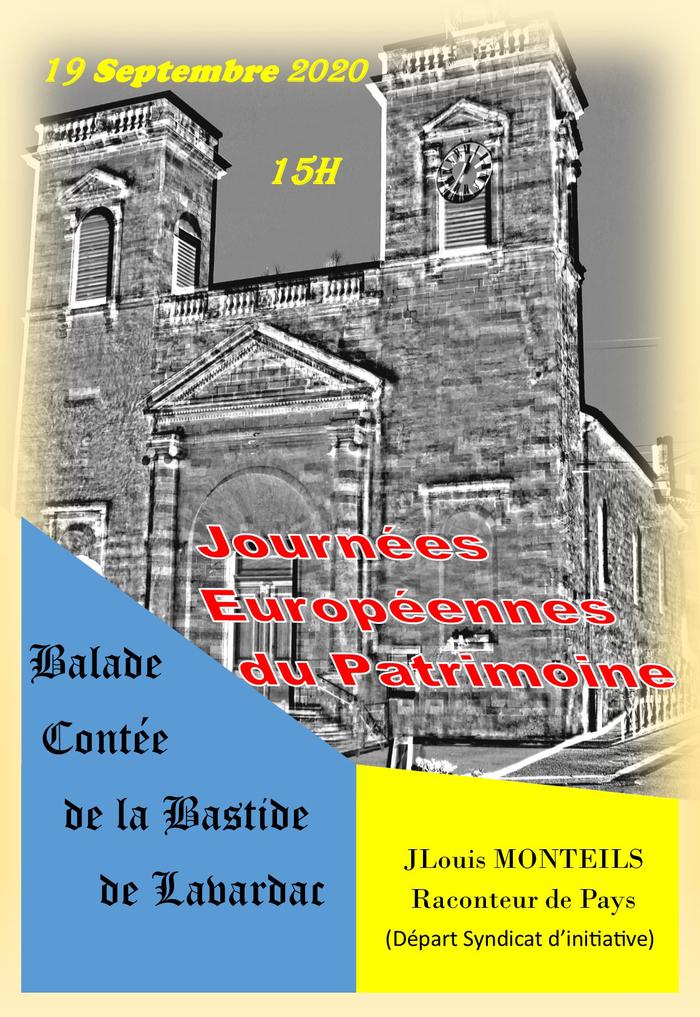 Journées du patrimoine 2020 - Balade contée de la bastide