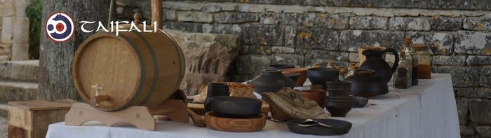 Journées du patrimoine 2020 - Démonstration : Atelier Cuisine avec l'association Taifali, troupe de reconstitution historique !