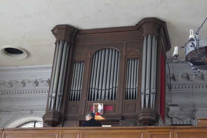 Journées du patrimoine 2019 - Visite libre du temple protestant et accès à la tribune de l'orgue