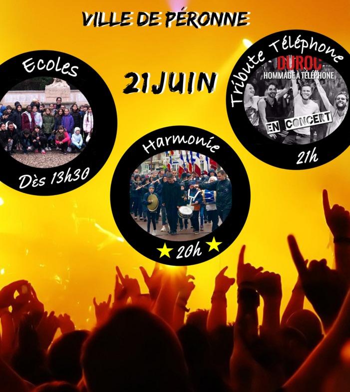 Fête de la musique 2019 - Ecoles // Harmonie // Tribute Téléphone