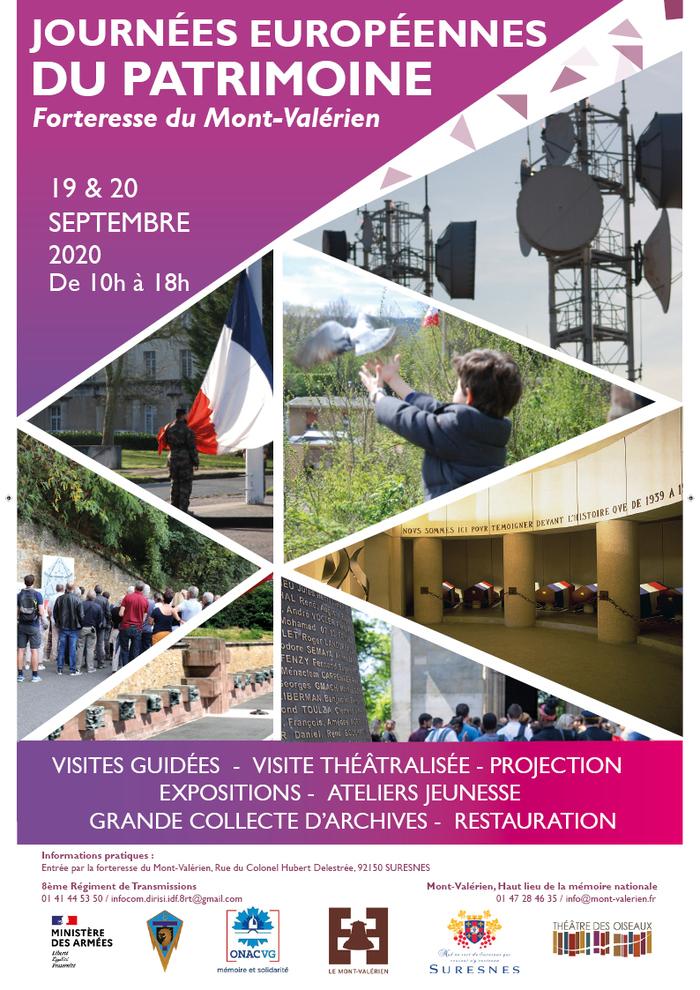 Journées du patrimoine 2020 - Visite du Mont-Valérien