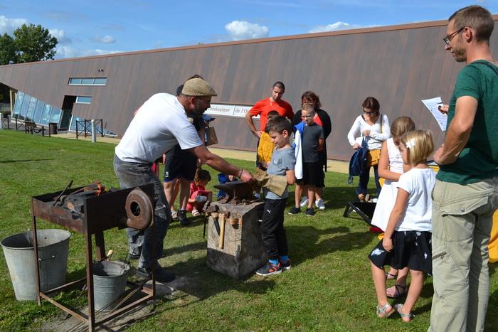 Journées du patrimoine 2020 - Démonstration de forge