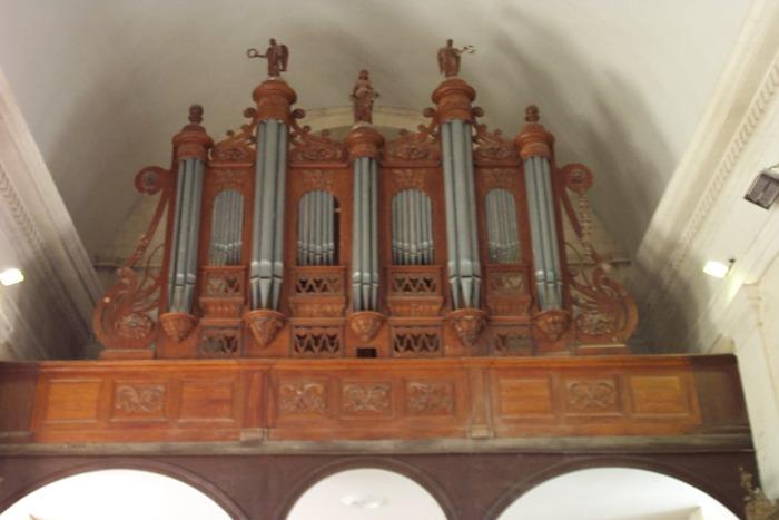 Journées du patrimoine 2020 - Découverte de l'orgue de La Ménitré fabriqué en 1842