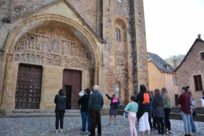 Journées du patrimoine 2019 - Visite guidée de l'abbatiale et du tympan du Jugement dernier