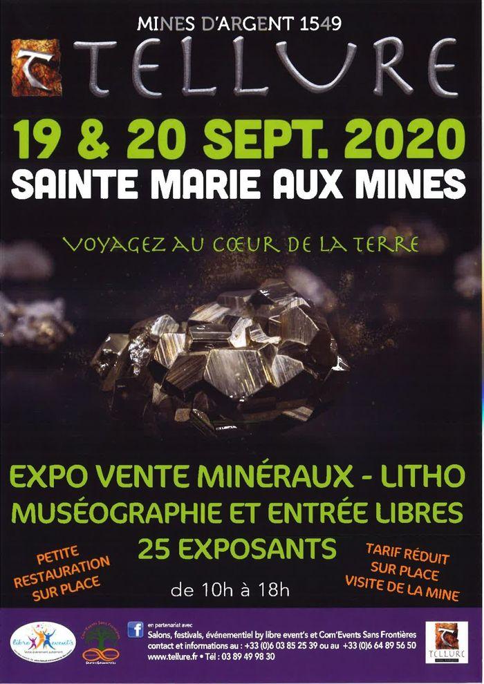 Journées du patrimoine 2020 - Expo-vente de minéraux litho au Parc Minier Tellure