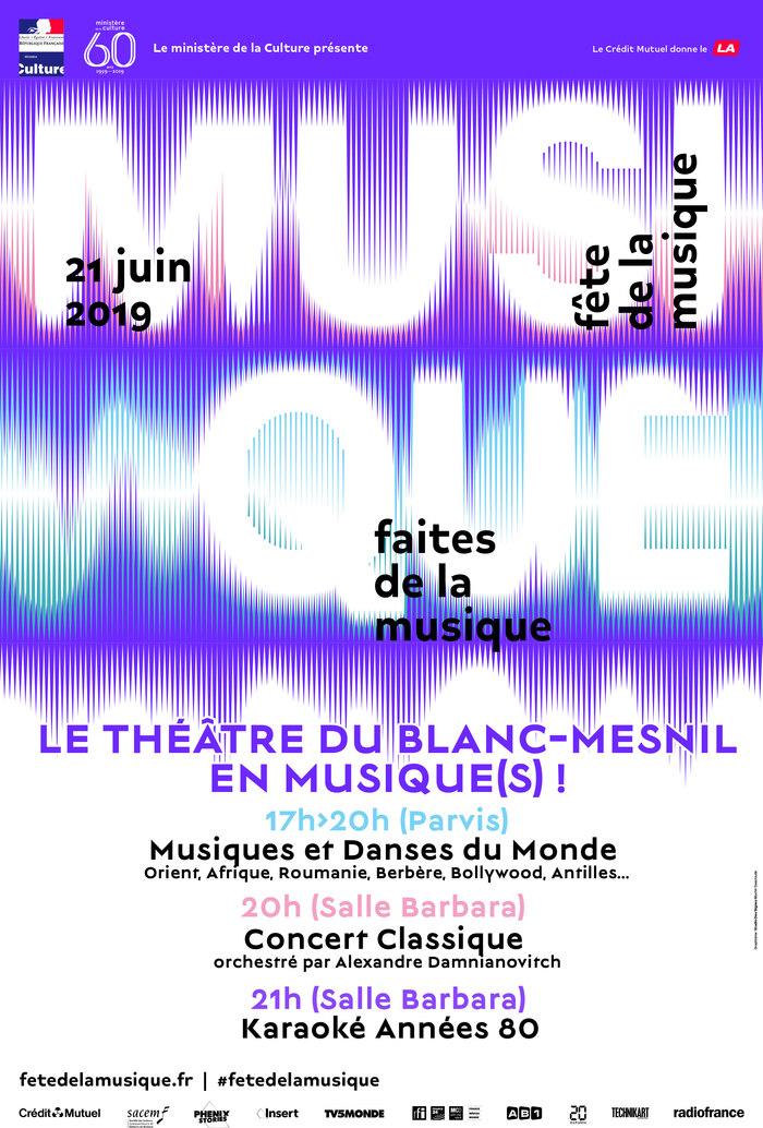 Fête de la musique 2019 - Le Théâtre du Blanc-Mesnil en musique(s)