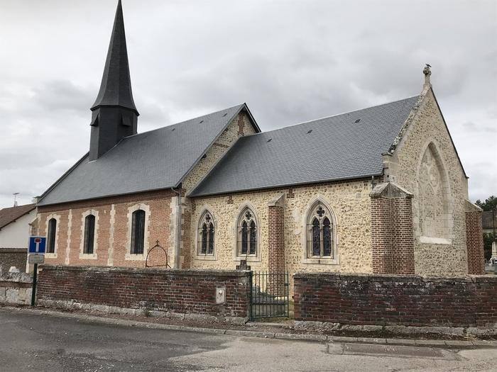 Journées du patrimoine 2020 - Visite libre de l'église Saint-Martin de Malleville-sur-le-Bec