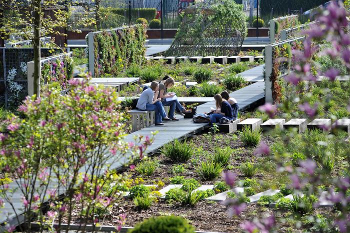 Pause naturaliste au Jardin des Géants