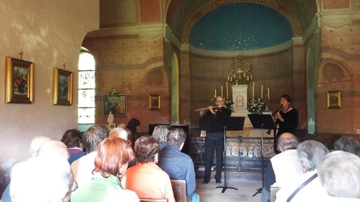 Journées du patrimoine 2020 - Concert de l'Ensemble Meli Melo, à Kerlevenan