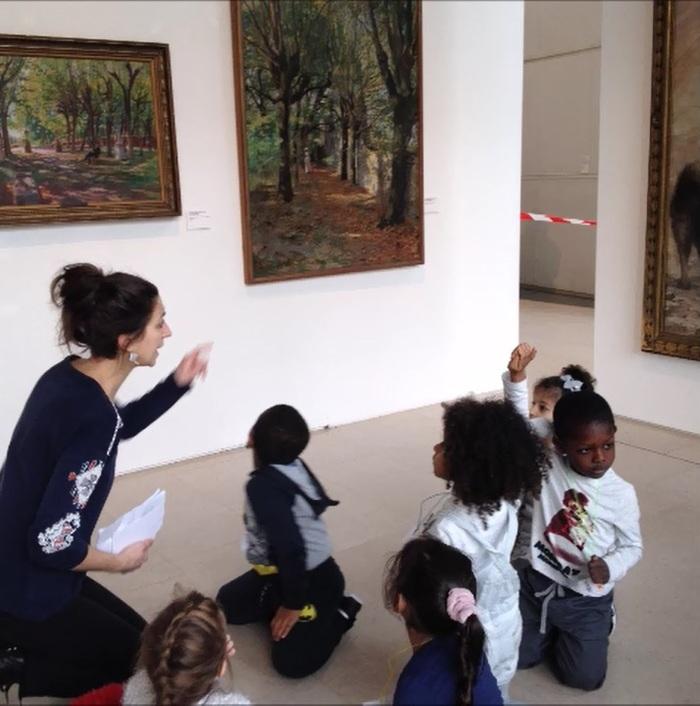 Nuit des musées 2019 -La classe, l'œuvre ! Autour de l'arbre