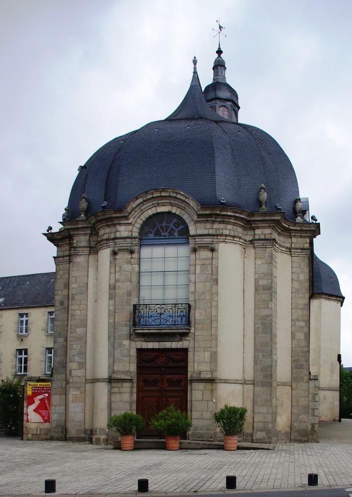 Journées du patrimoine 2020 - Visite libre de la médiathèque Aveline d'Alençon