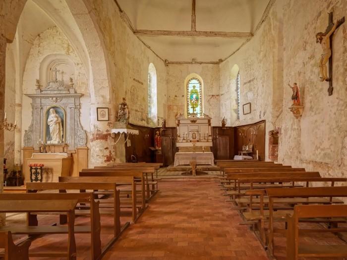 Journées du patrimoine 2020 - Admirez les fresques  de l'église Saint-Martin de Moeurs