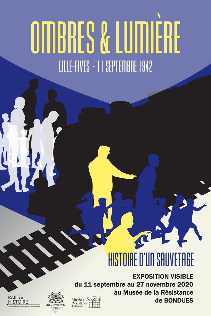 Journées du patrimoine 2020 - Exposition « Ombres et Lumière, Lille-Fives 11 septembre 1942 : histoire d'un sauvetage »