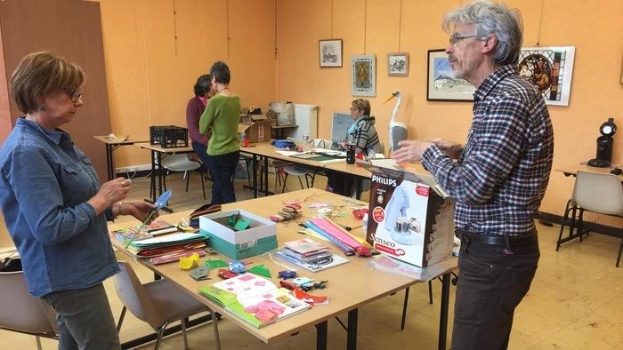 Journées du patrimoine 2019 - Ateliers artistiques autour du papier