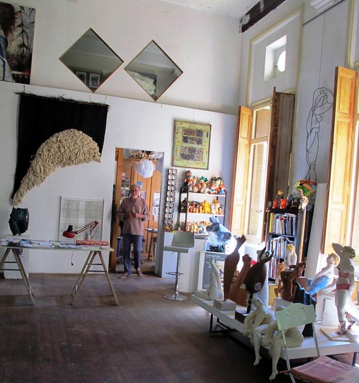 Journées du patrimoine 2019 - Visite de l'atelier du sculpteur Pierre Vallauri