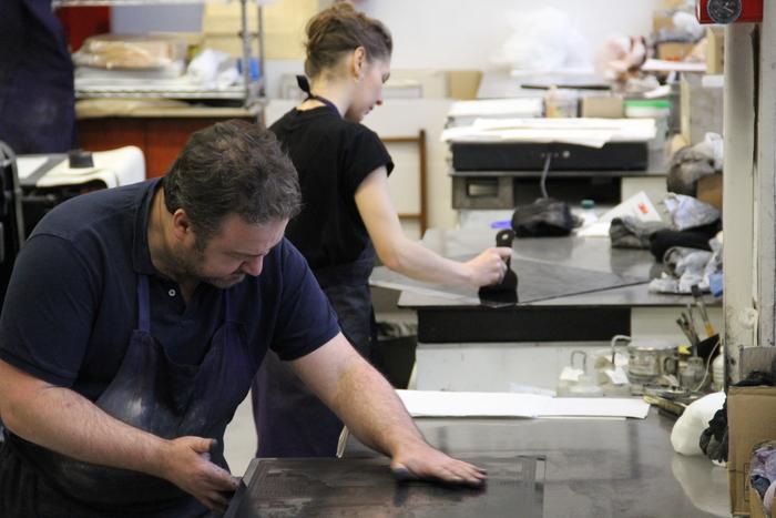 Journées du patrimoine 2020 - Visite et démonstration d'atelier de la chalcographie de la Rmn-GP