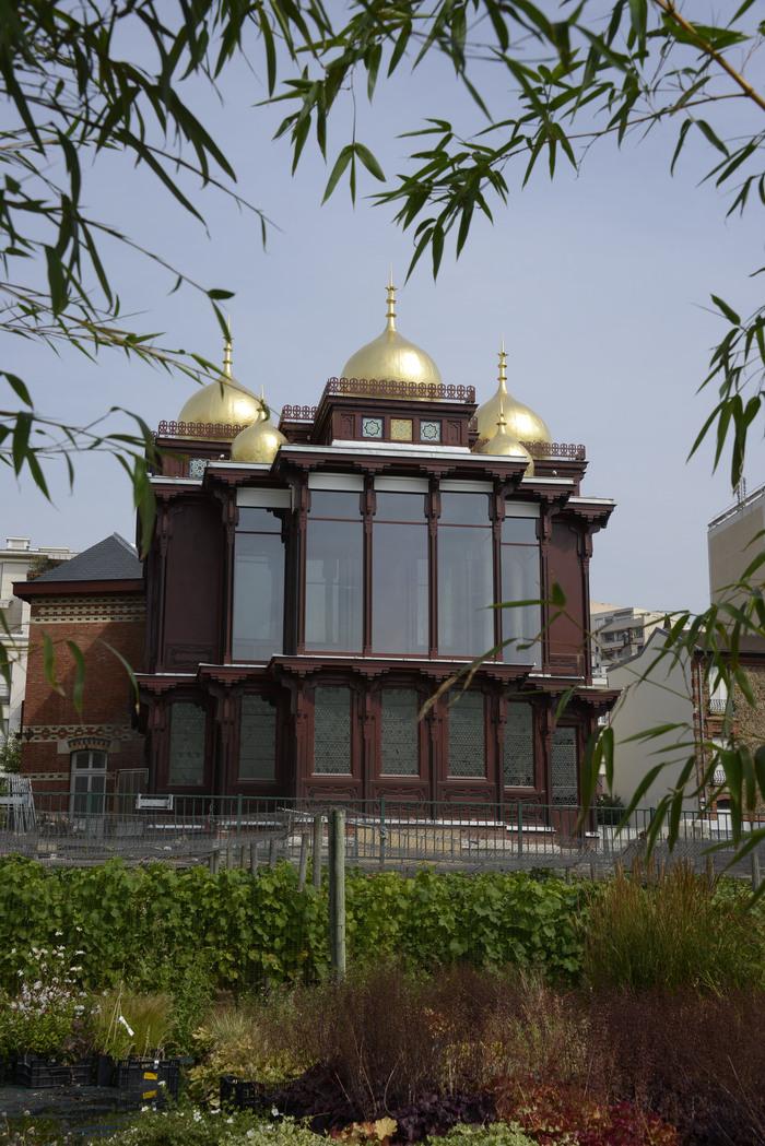 Journées du patrimoine 2020 - Visite du Pavillon des Indes