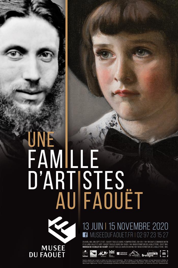 Journées du patrimoine 2020 - Une famille d'artistes au Faouët