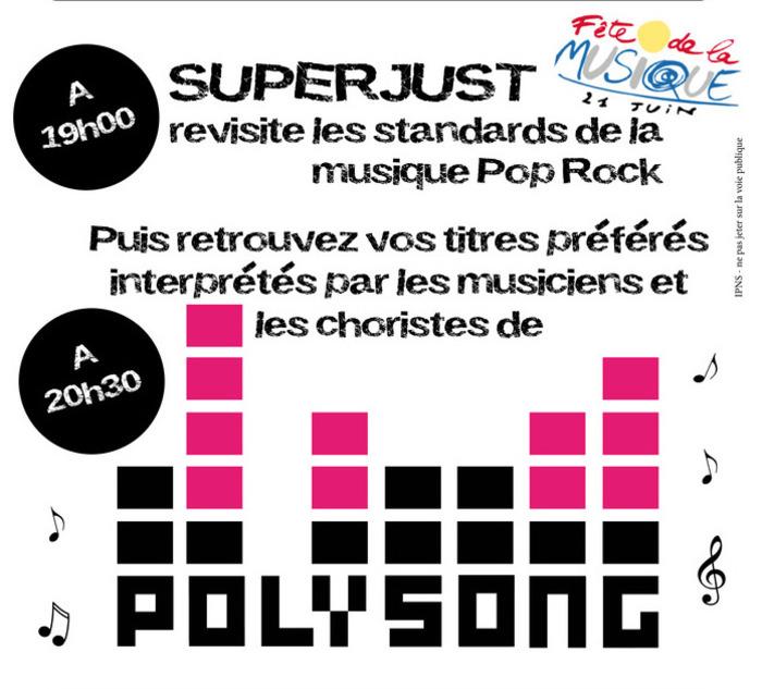 Fête de la musique 2019 - Polysong // Superjust