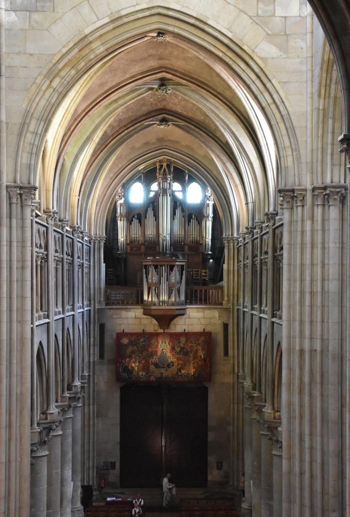 Journées du patrimoine 2019 - Audition d'orgue à l'église Notre-Dame de Dijon