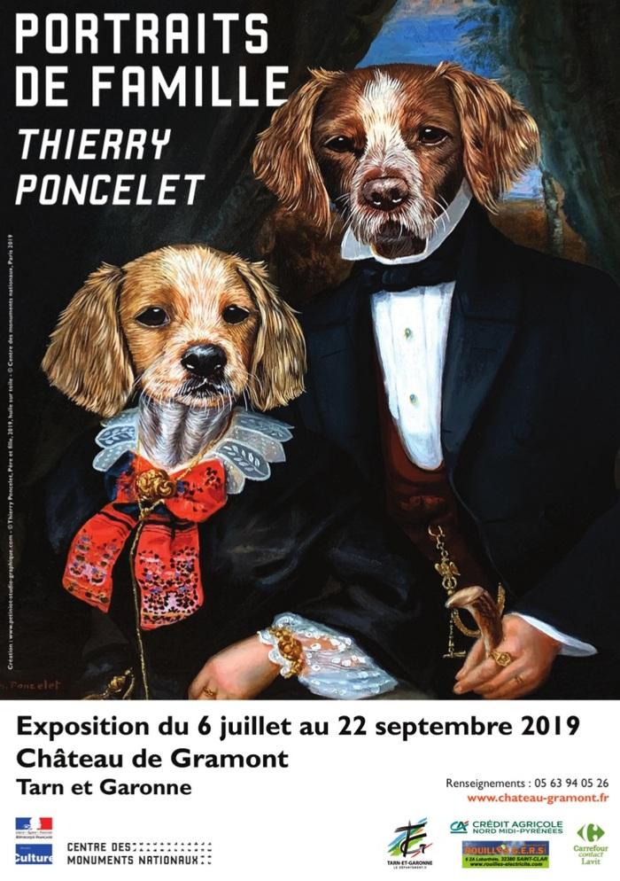 Journées du patrimoine 2019 - Visite guidée de l'exposition, dans les salons du monument