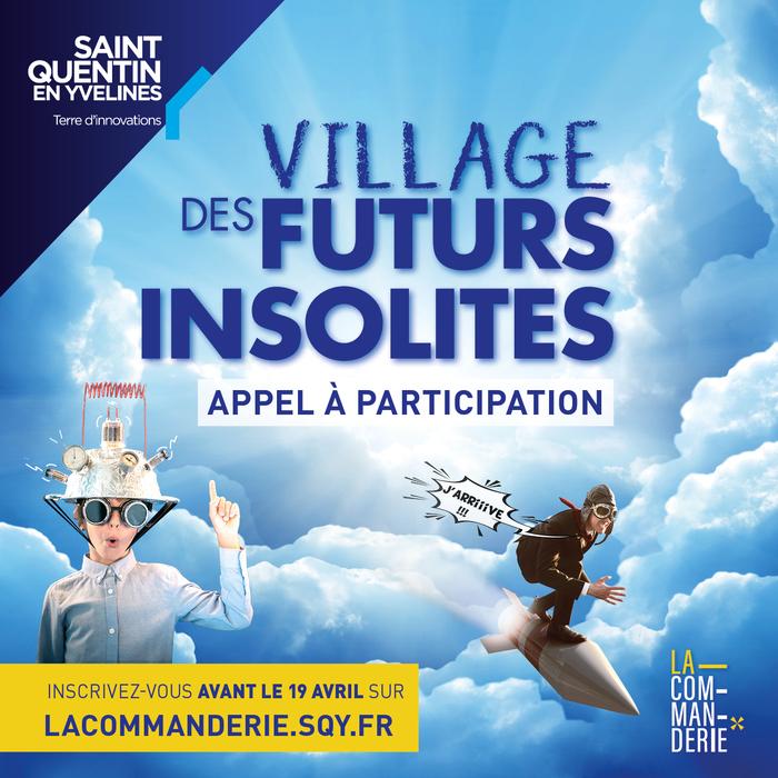 Appel à participation - Village des futurs insolites 2021
