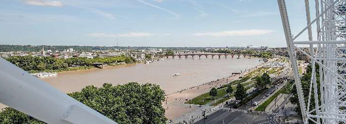 La Grande Roue à Bordeaux