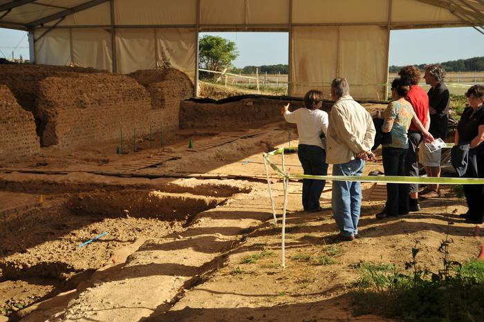 Journées du patrimoine 2020 - Visite guidée du chantier de fouille