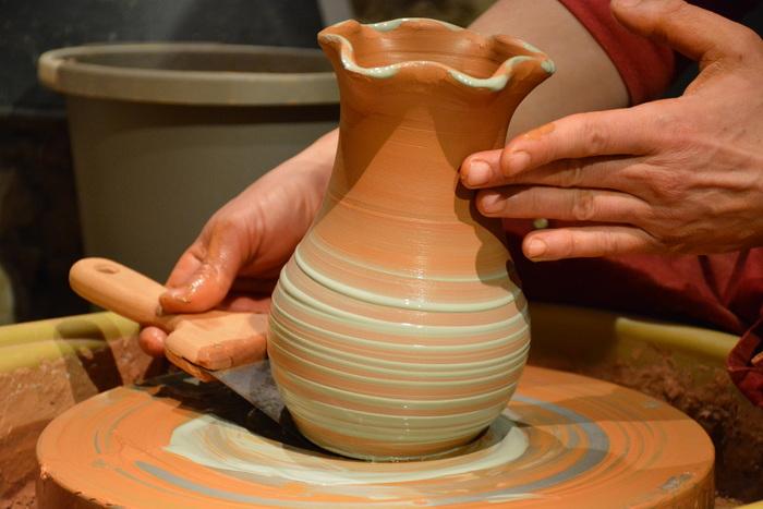 Journées du patrimoine 2020 - Démonstration de poterie