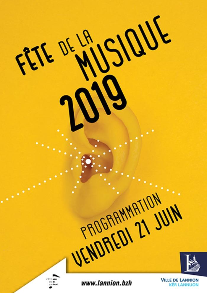 Fête de la musique 2019 - Chabada / Sant'Ana / Anouna / Association Servel-Loisir / UTL / Salle de bain / Variation XXI / Castel-Gorju / Choeur Orange / Orchestres
