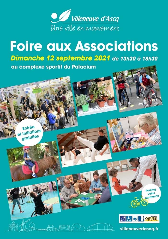 Foire aux associations de Villeneuve d'Ascq