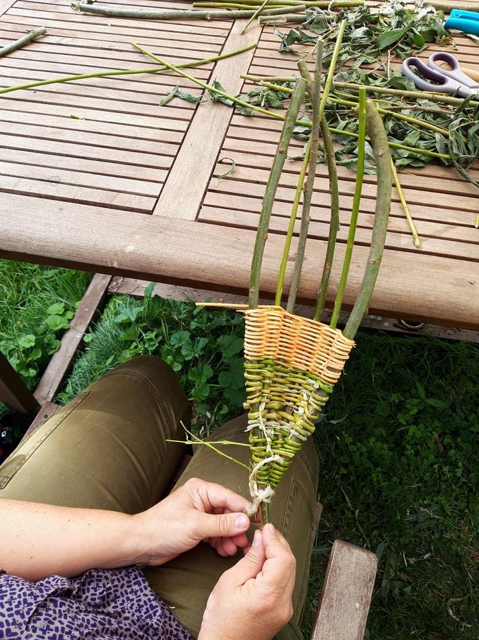 Vert par nature – Atelier de création d'une corbeille tressée
