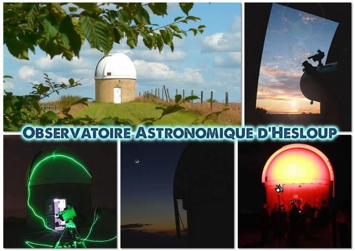 Journées du patrimoine 2019 - Visite libre pour découvrir de l'Observatoire astronomique d'Hesloup