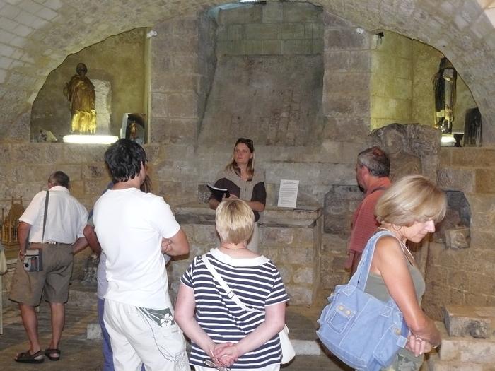 Journées du patrimoine 2020 - Visite guidée de la crypte romane de Longpré Les Corps Saints