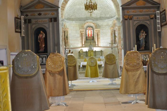 Journées du patrimoine 2019 - Exposition de vêtements liturgiques : les Jésuites