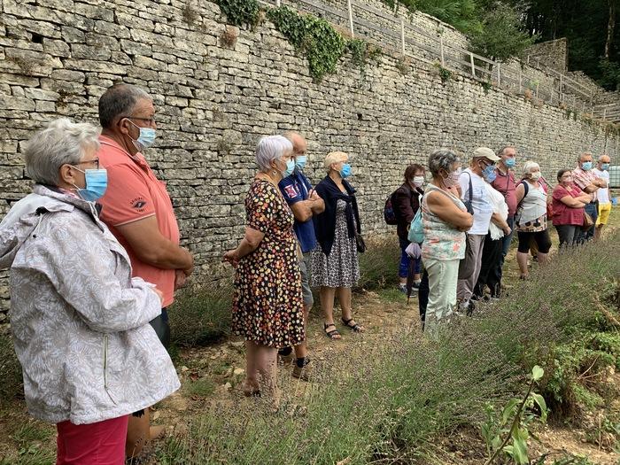 Journées du patrimoine 2020 - Visite des Jardins Suspendus et de leurs remarquables Escargots de Pierre.
