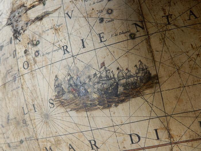 Journées du patrimoine 2019 - Globes, le monde à portée de main. Collections des XVIIe et XVIIIe siècles