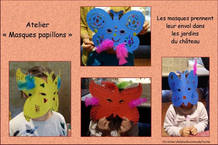 Journées du patrimoine 2020 - Atelier masque papillon