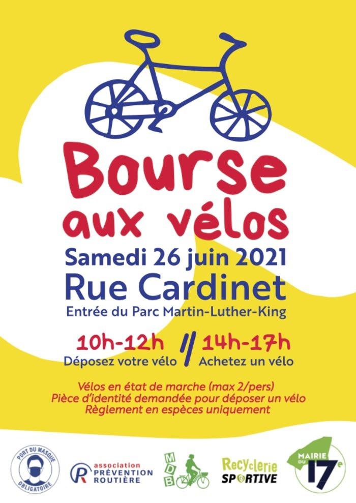 Bourse aux vélos - Paris XVII