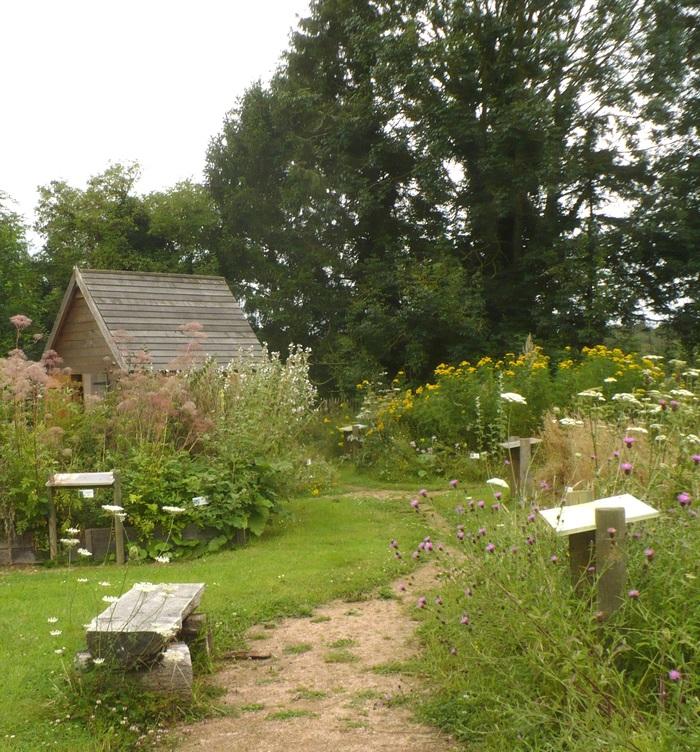 Journées du patrimoine 2019 - Visite libre de la chaumière aux orties et du jardin des herbes sauvages