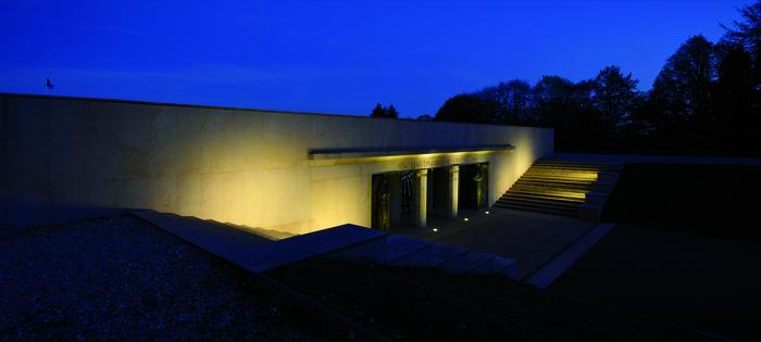 Nuit des musées 2019 -Eclairage nocturne de la crypte et de l'exposition permanente de l'Historial