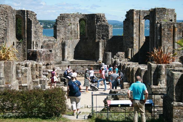 Journées du patrimoine 2020 - Visites flash dans les ruines de l'Abbaye de Landévennec