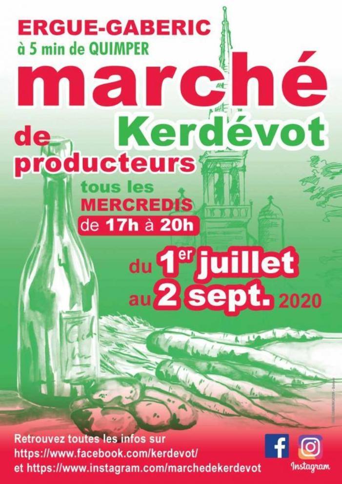 6 écrivains seront en signature au Marché de Kerdévot à Ergué-Gabéric (Finistère)