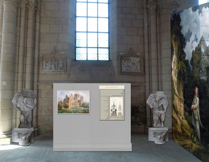 Journées du patrimoine 2019 - Exposition  : « Braine au temps des estampes romantiques, fin 18ème,19ème s. châteaux et abbaye retrouvés».