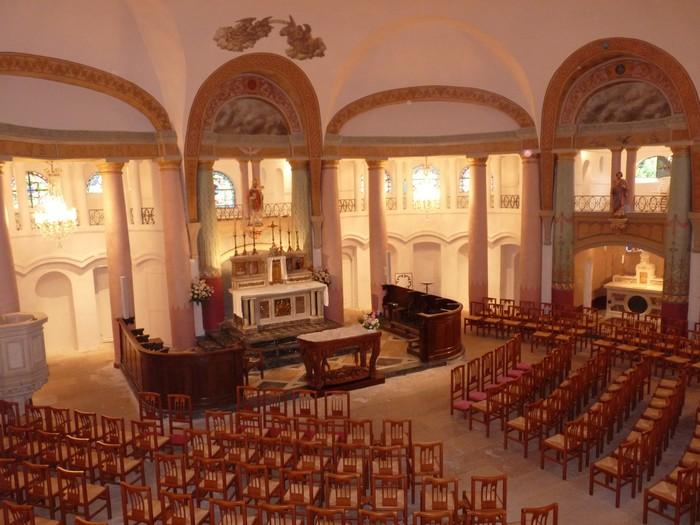 Journées du patrimoine 2019 - Visite libre de l'église Saint-Didier