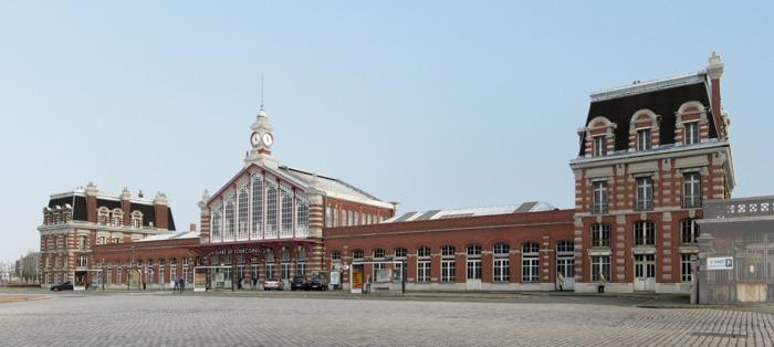 Visite de la gare de Tourcoing